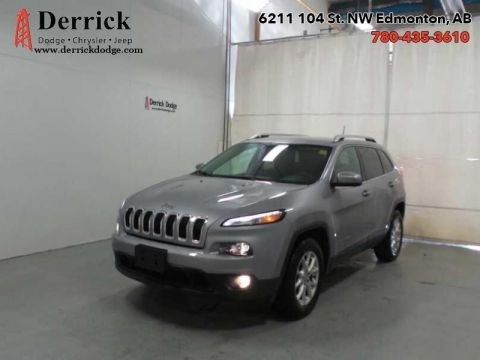 Pre-Owned 2016 Jeep Cherokee 4WD North Latitude Pwr Grp A/C $151.70 B/W