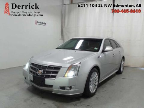 Pre-Owned 2011 Cadillac CTS Wagon 4Dr AWD Wagon Performance Low Mileage $248.88 B/W