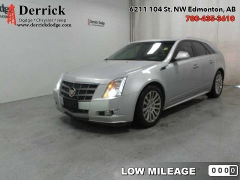 Pre-Owned 2011 Cadillac CTS Wagon 4Dr AWD Wagon Performance Low Mileage $258.42 B/W