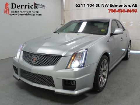 Pre-Owned 2009 Cadillac CTS-V 4Dr SDN Dual Sunroof Pwr Grp Lthr Sts $411.19 B/W