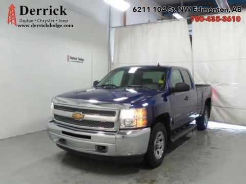 Pre-Owned 2013 Chevrolet Silverado 1500 Ext/Cab LS Power Group A/C Side Bars $183.44 B/W