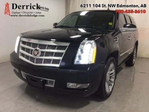 Pre-Owned 2013 Cadillac Escalade Used 4WD Platinum Sunroof Nav Lthr Sts $358.35 B/W