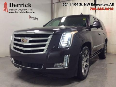 Pre-Owned 2015 Cadillac Escalade Used AWD Premium Nav Sunroof Lthr Sts $470.17 B/W