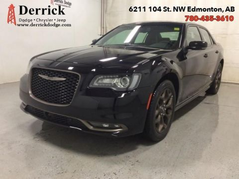 Pre-Owned 2017 Chrysler 300 Used AWD S 10 Km Nav Panoramic Sunroof $217.95 B/W