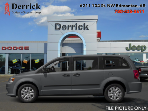 Demo 2017 Dodge Grand Caravan CVP/SXT  - $195.03 B/W