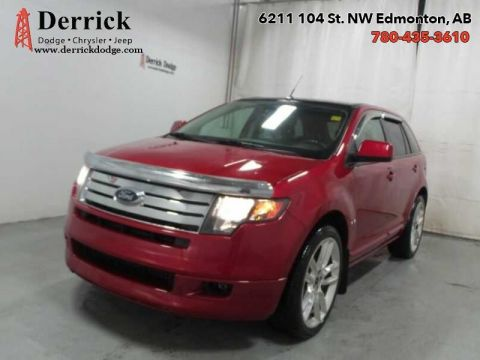 Pre-Owned 2010 Ford Edge Used AWD Sport Sunroof Pwr Grp A/C $165.85 B/W