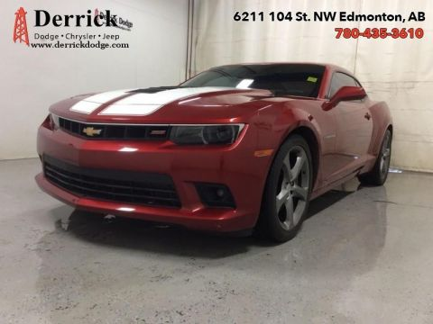 Pre-Owned 2014 Chevrolet Camaro Used SS Pkg Leather Seats Nav Sunroof $227.84 B/W