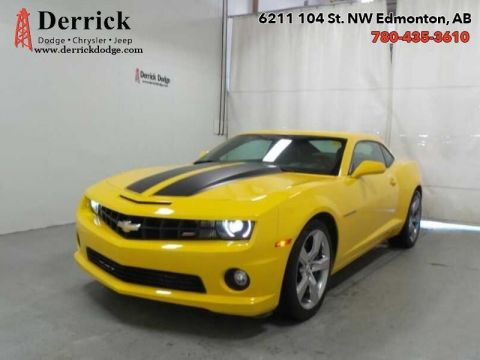 Pre-Owned 2012 Chevrolet Camaro SS Low Milge Lthr Sts Sunroof B/U Cam $220.13 B/W