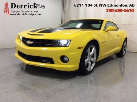 Pre-Owned 2012 Chevrolet Camaro Used 2SS Manual Sunroof Leather Seats $169.25 B/W