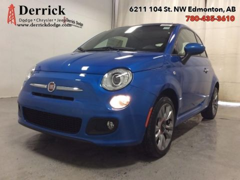 Pre-Owned 2016 FIAT 500 Used Sport Low Milge Ht Frnt Sts Blutooth 117 B/W