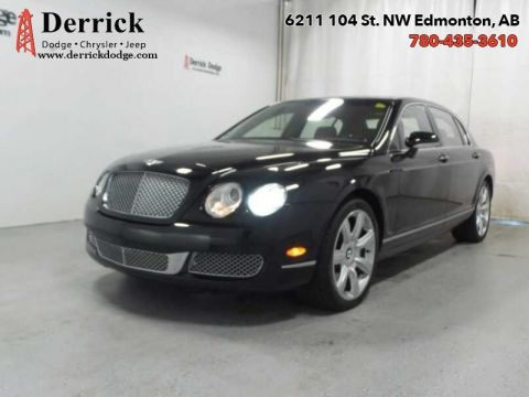 Pre-Owned 2006 Bentley Continental Flying Spur 4Dr AWD Sunroof Nav Premium Leather Seats