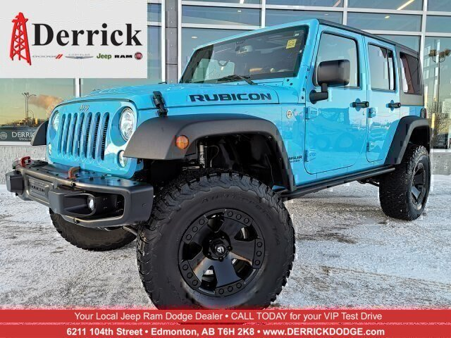 Pre-Owned 2017 Jeep Wrangler Unlimited 4WD 4dr Rubicon Hard Rock *Ltd Avail*