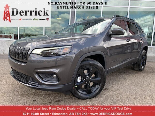 New 2019 Jeep Cherokee North 4x4