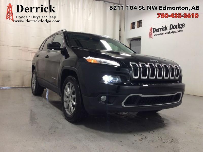 New 2018 Jeep Cherokee Limited 4x4  - $219.72 B/W