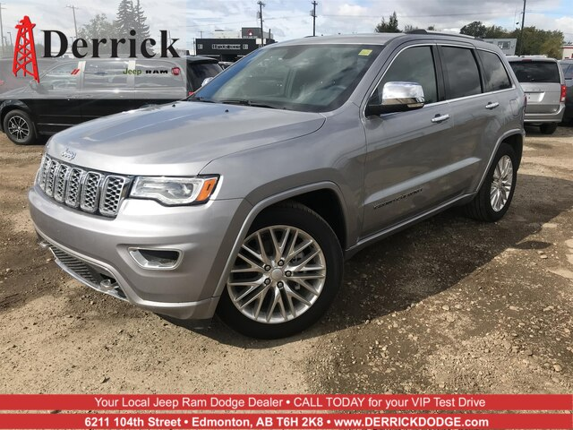 Pre-Owned 2018 Jeep Grand Cherokee Overland
