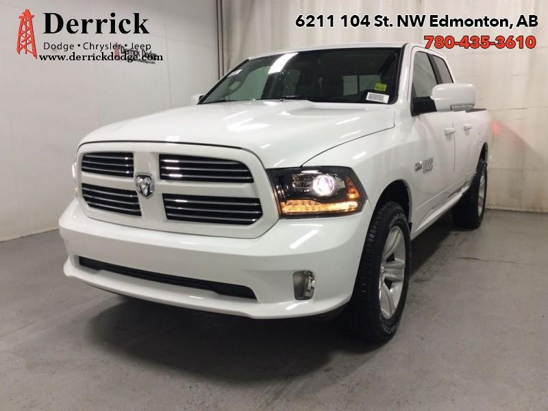 "New 2017 Ram 1500 Sport   Q/C 4X4 Sport Nav Capable 20"" Whls"