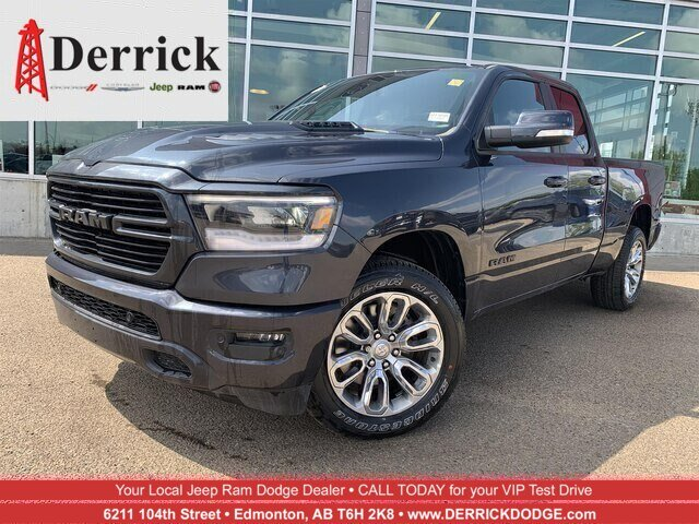 New 2019 Ram 1500 Sport 4x4 Quad Cab 6'4 Box