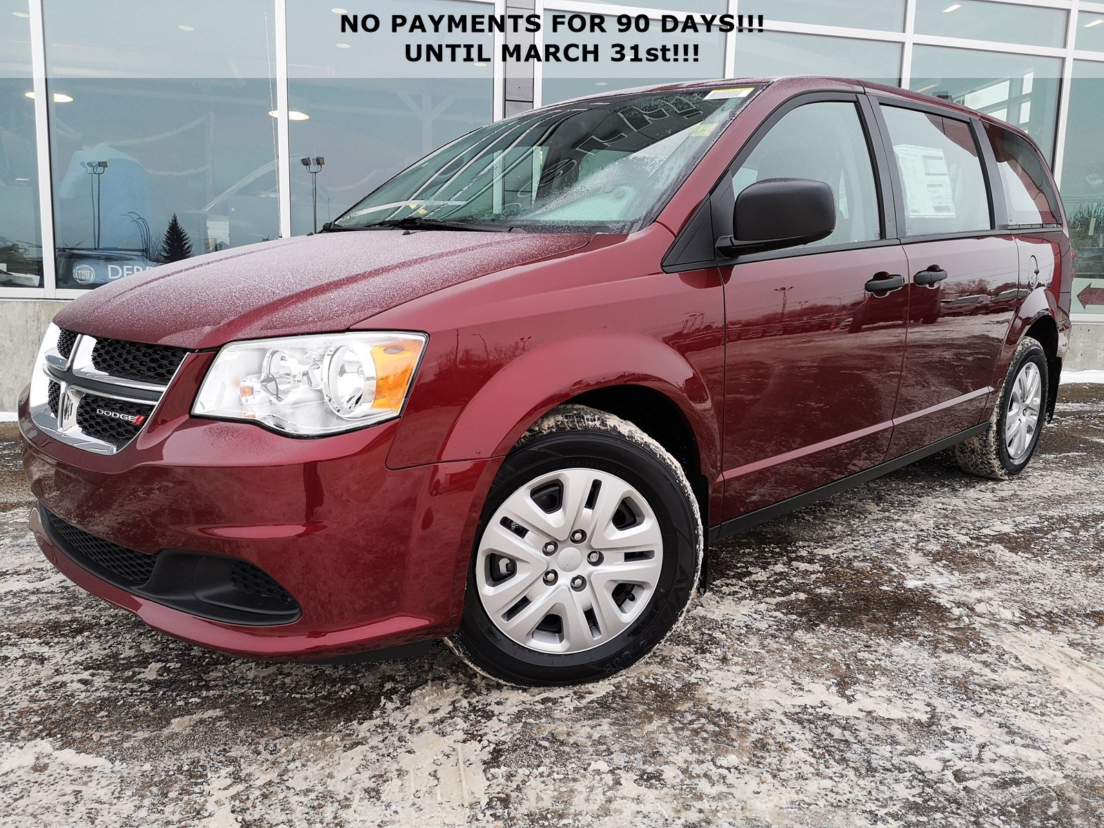 New 2019 Dodge Grand Caravan Canada Value Package 2WD