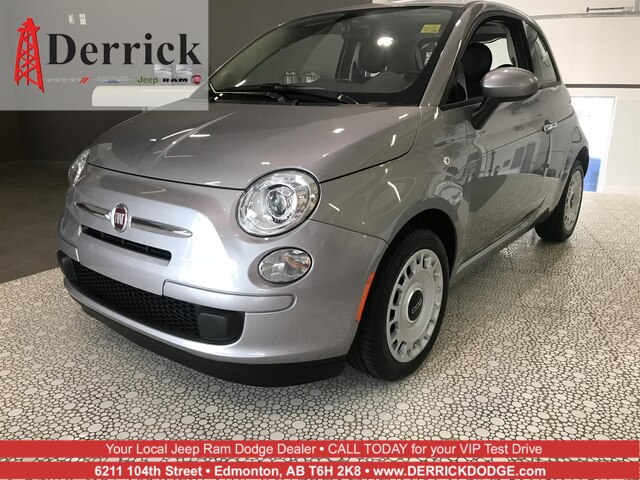 New 2017 Fiat 500 Pop Hatchback In Edmonton Hfi9582 Derrick Dodge