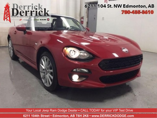 New 2017 FIAT 124 Spider Lusso