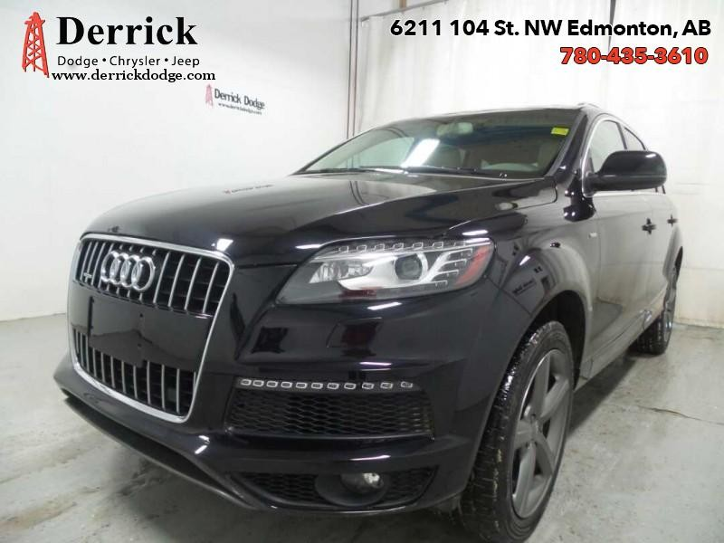Pre-Owned 2015 Audi Q7 Used AWD 3.0T Vorsprung Edition Nav $345.40 B/W