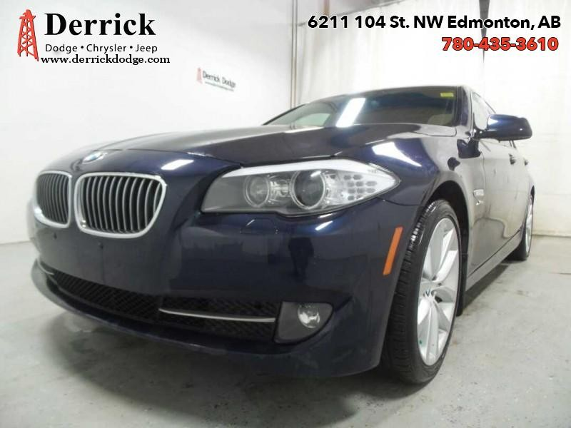 Pre-Owned 2011 BMW 5 Series Used 535i xDrive Lthr Seats Sunroof $201.21 B/W