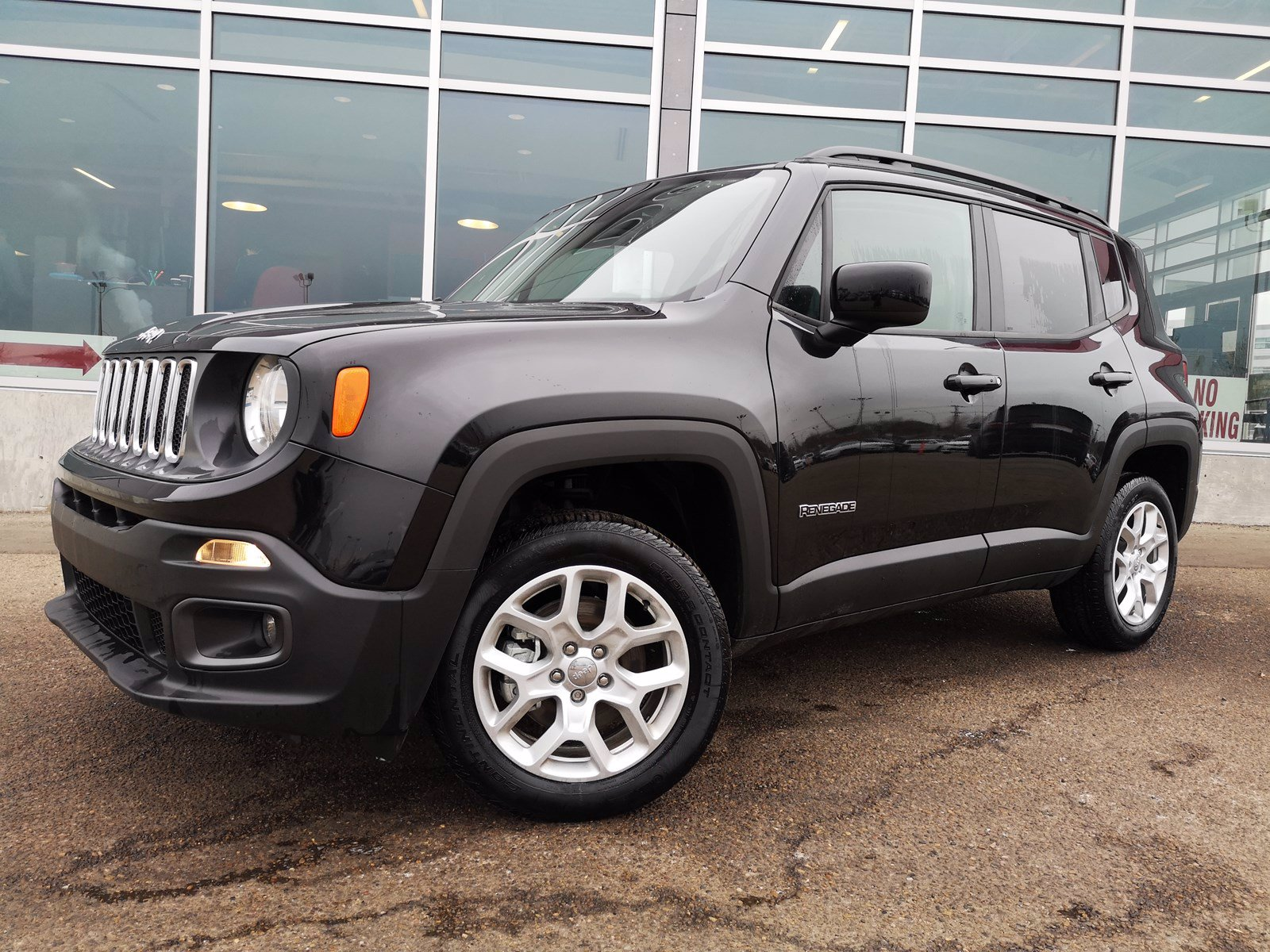 New 2018 Jeep Renegade North 4x4