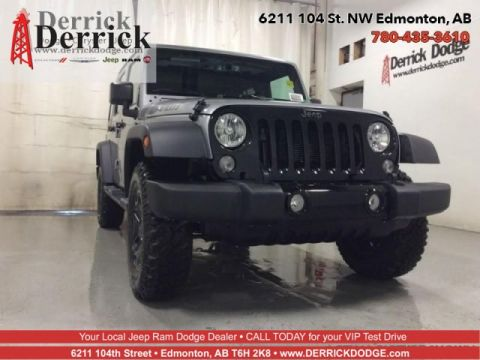 New 2018 Jeep Wrangler JK Unlimited Willys Wheeler W
