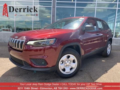 New 2019 Jeep Cherokee Sport