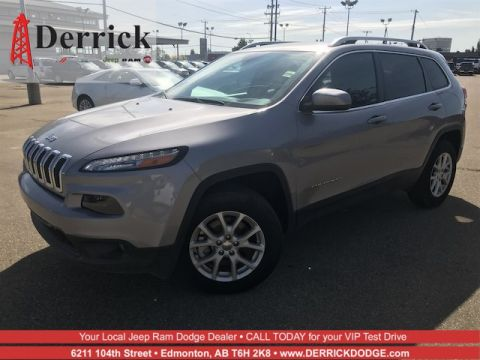 Demo 2017 Jeep Cherokee Latitude