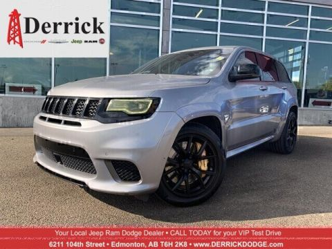 Pre-Owned 2018 Jeep Grand Cherokee Trackhawk 4x4