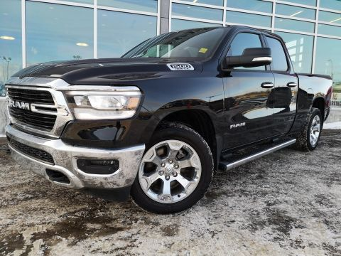 New 2019 Ram 1500 Big Horn 4x4 Quad Cab 6'4 Box