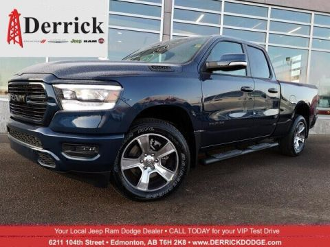 New 2020 Ram 1500 Sport 4x4 Quad Cab 6'4 Box