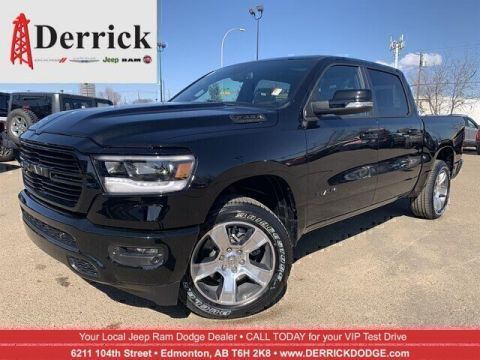 New 2019 Ram 1500 Sport 4x4 Crew Cab 5'7 Box